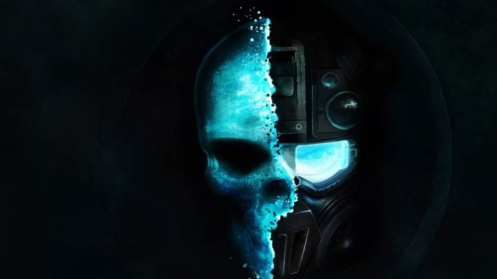 Tom Clancy's Ghost Recon – Future Soldier – Skull And Black Background