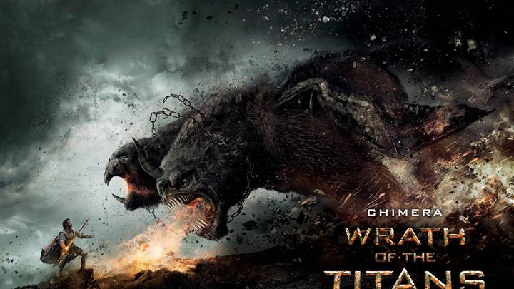 Wrath of the Titans – Chimera Screaming