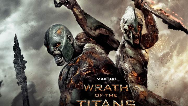 Wrath of the Titans – Makhai Sword In Hand