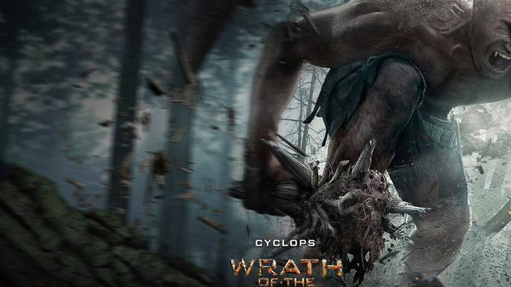 Wrath of the Titans – Martin Bayfield As Cyclops Screaming