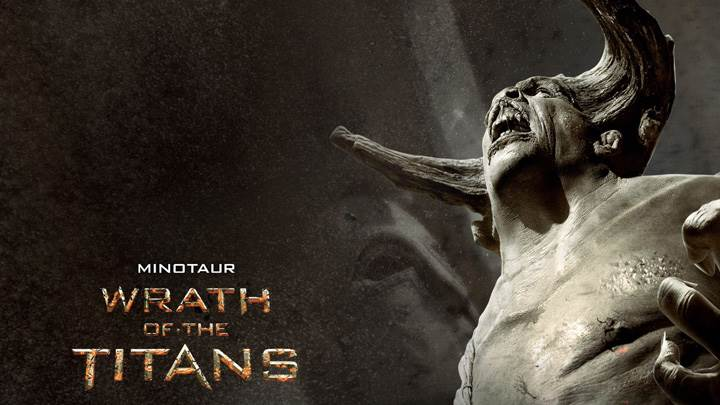 Wrath of the Titans – Spencer Wilding As Minotaur Screaming