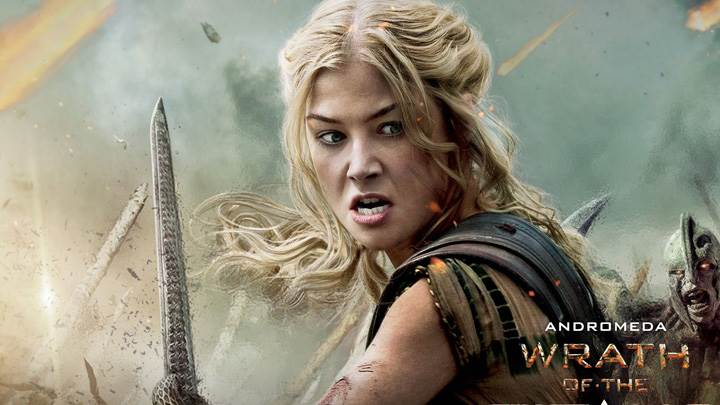 Wrath of the Titans – Rosamund Pike As Andromeda Sword In Hand