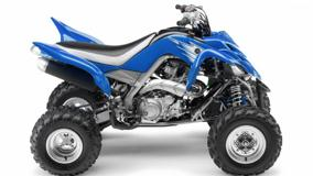 Yamaha Raptor 700R In Blue Side Pose