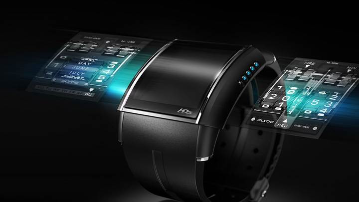 A Luxury Wrist Watch Concept