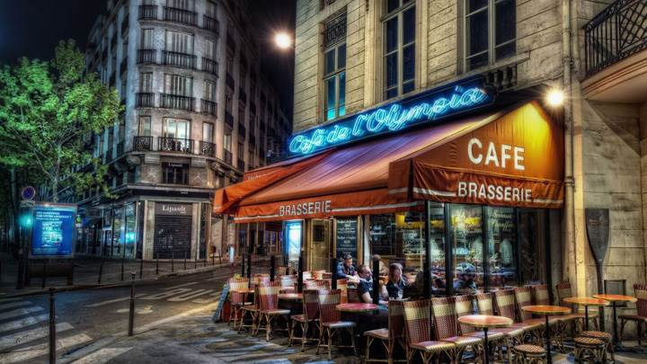 Cafe Brasserie Outside View