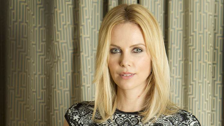 Charlize Theron Cute Eyes Photoshoot At Joel Ryan Portraits London