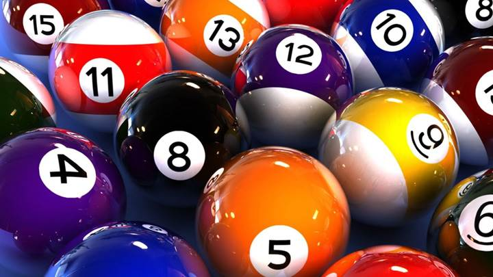 Colorful Snooker Balls