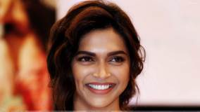 Deepika Padukone Face Closeup At Melanges Lifestyle Cocktail Ethnic Wear