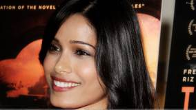 Freida Pinto Smiling Face Closeup At Trishna Special Screening