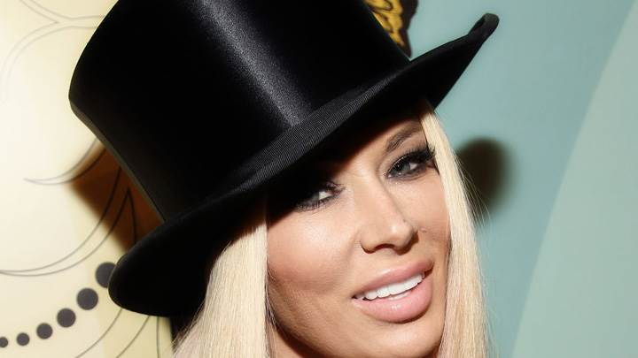 Jenna Jameson Smiling Face Closeup At Perez Hilton's 34th Birthday