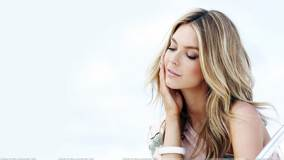Jennifer Hawkins Thinking Side Pose Photoshoot