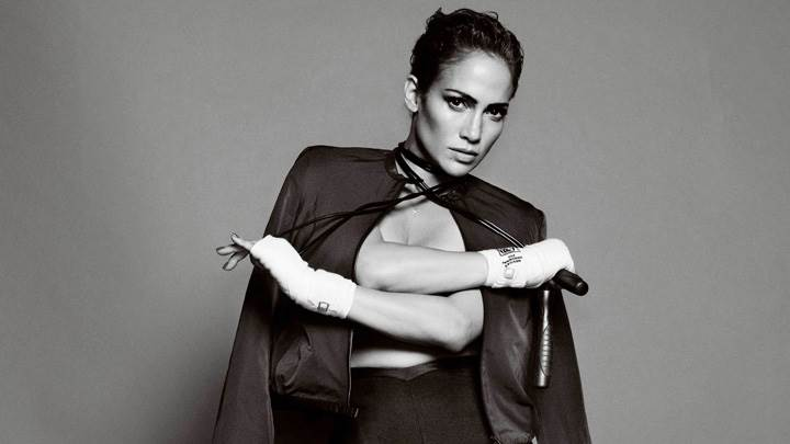 Jennifer Lopez Black N White At Mario Testino Photoshoot
