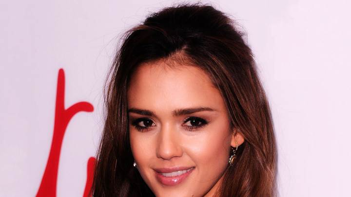 Jessica Alba Smiling Face Closeup At 3rd Annual Diane von Furstenberg Awards