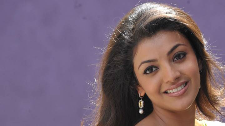 Kajal Aggarwal Smiling Cute Eyes N Glossy Lips