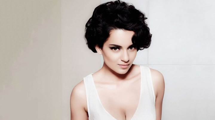 Kangna Ranaut Looking Front In White Top