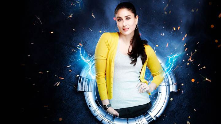 Kareena Kapoor Modeling Pose In Yellow Top