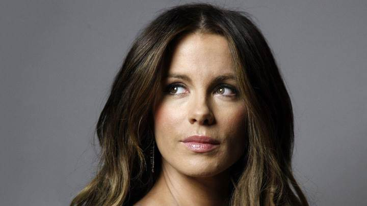 Kate Beckinsale Cute Face Closeup At LA Times Magazine