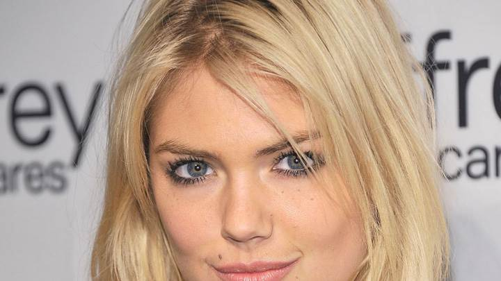 Kate Upton Cute Face Closeup At Jeffrey Fashion Cares