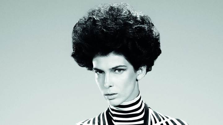 Kristina Salinovic Black N White Hairstyle By Tim Barber