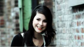 Lena Meyer-Landrut Sweet Laughing Face N Red Lips Photoshoot