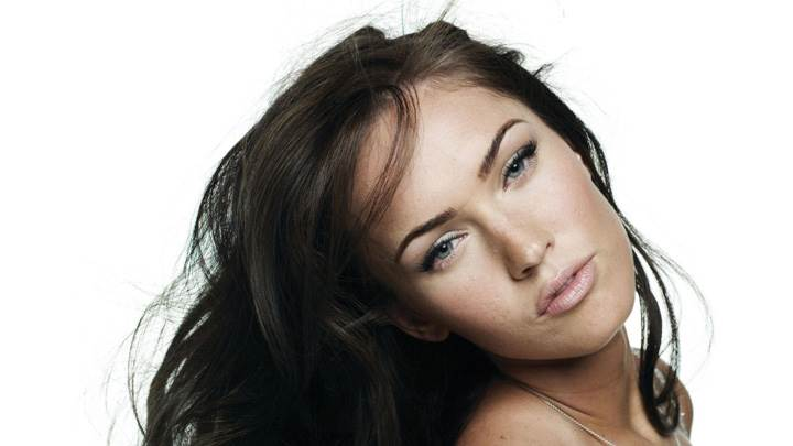 Megan Fox Cute Eyes N Wet Lips Face Photoshoot