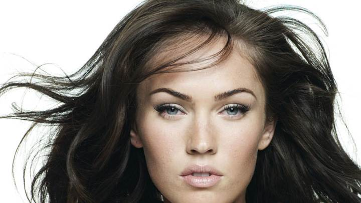 Megan Fox Cute Eyes Ultra Face Closeup