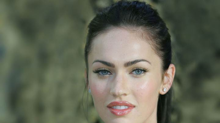 Megan Fox Sweet Ultra Face Closeup