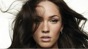 Megan Fox Ultra Face Closeup