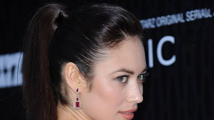 Olga Kurylenko Side Face Closeup At Premiere In Los Angeles