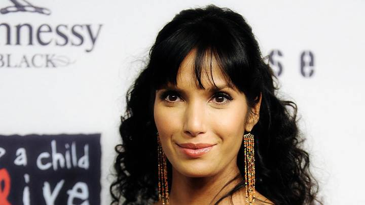 Padma Lakshmi Smiling At 6th Annual Keep a Child Alive Benefit