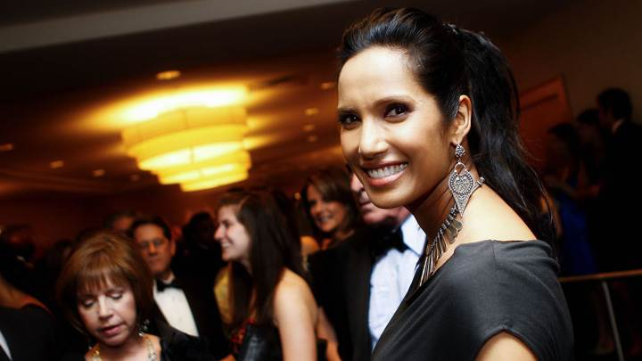 Padma Lakshmi Smiling At White House Correspondents Association Dinner