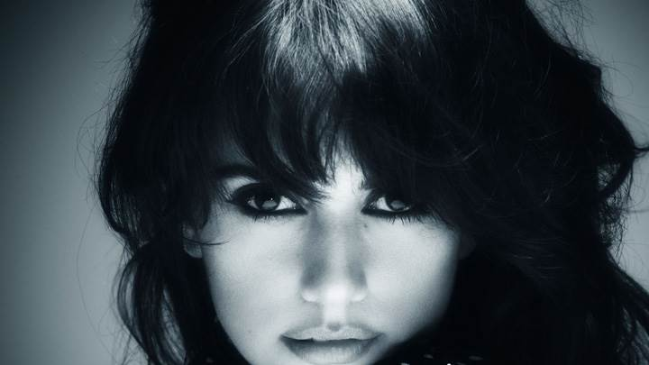 Penelope Cruz Black N White Face Closeup