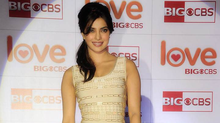 Priyanka Chopra Smiling At CBS Big Love Show Launch