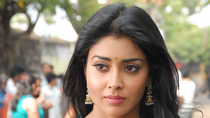 Shriya Saran Cute Eyes N Innocent Face In Nuvva Nena