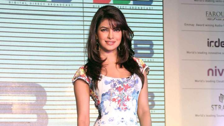 Smiling Priyanka Chopra Unveils DDB Technology