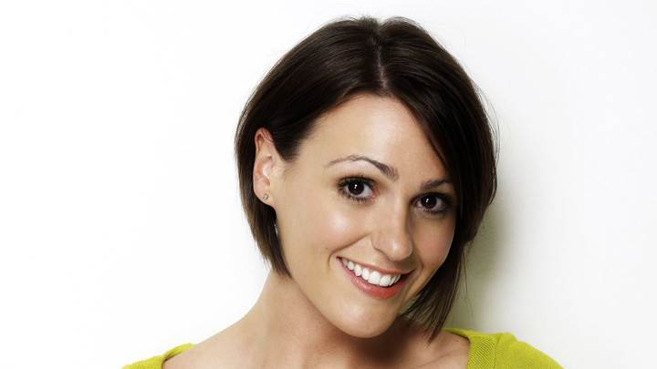 Suranne Jones Cute Smiling Face At Mike Owen Photoshoot