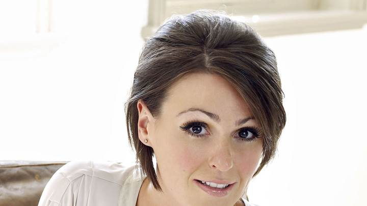 Suranne Jones looking Front At Mike Owen Photoshoot