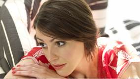Suranne Jones Thinking Somthing At Mike Owen Photoshoot