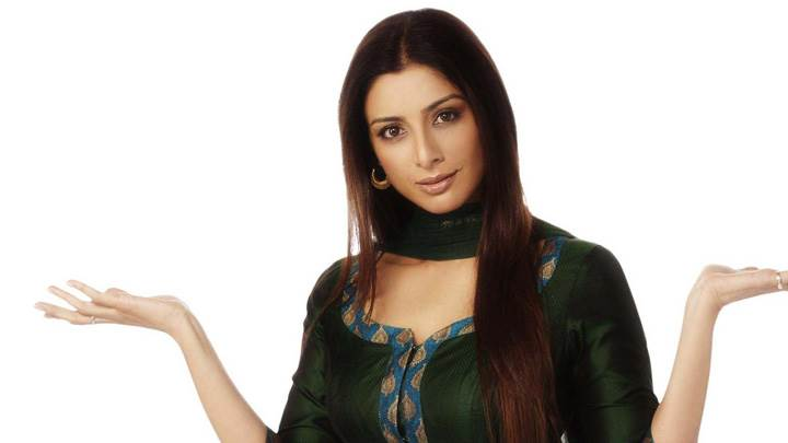 Tabu Looking At Camera N White Background