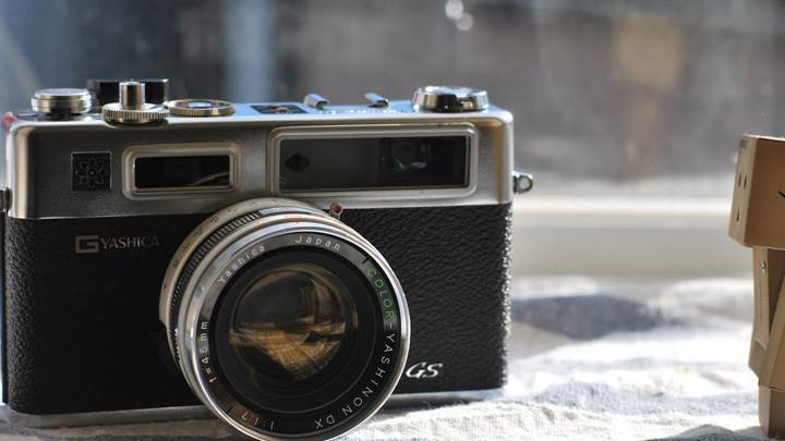 YASHICA GS Digital Camera Closeup