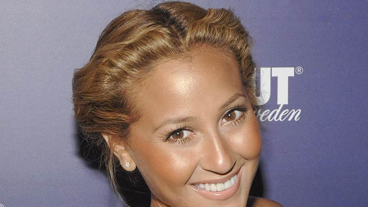 Adrienne Bailon At Absolut 100 Party