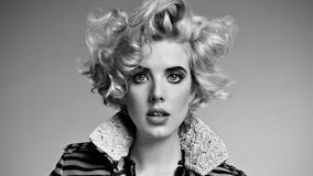 Agyness Deyn Surprise In Black N White Photo