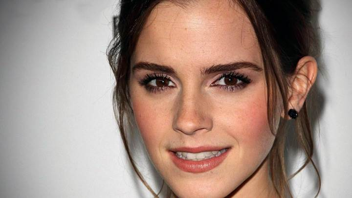 Cute Emma Watson Smiling Face Closeup