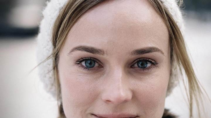 Diane Kruger Smiling Ultra Face Closeup