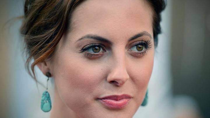 Eva Amurri Smiling Pink Lips N Cute Eyes Face Closeup