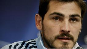 Iker Casillas Looking At Camera Face Closeup