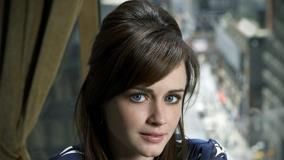 Sweet Smiling Alexis Bledel Looking At Camera