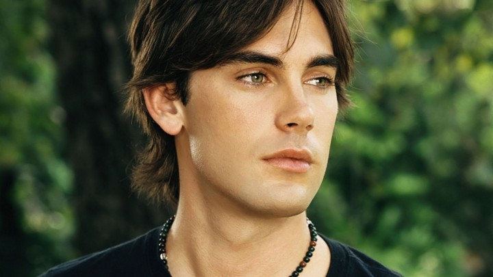 Drew Fuller Face Closeup Pink Lips Looking Somewhere