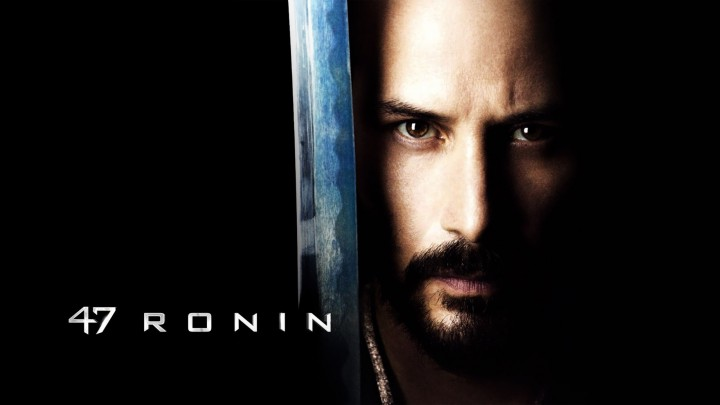 Keanu Reeves With His Sword Brown Eyes In 47 Ronin