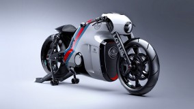 2014 Lotus C-01 Superbike In White Color
